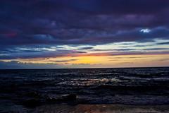 Mare d'Inverno - Winter Sea (C.Liga) Tags: winter sea italy canon italia tramonto mare blu luci palermo inverno spiaggia sicilia cefal 450d