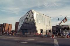 future MOCA by FOA (Andrew C Bly) Tags: ohio architecture modern design cleveland tokina1224 moca universitycircle foa canonrebelxsi museumofcontemporaryartcleveland