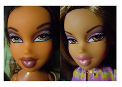 Full Circle (alexbabs1) Tags: 2001 fashion dolls desert faces 1st edition screening 2012 bratz jewelz