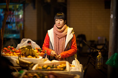 Beauty (Eason Q) Tags: life china winter beauty night canon market journey snacks     jiangsu    changshu     humanistic