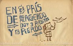 El pas de NoMeAcuerdo (~ tilde ~) Tags: illustration handlettering ilustracin caligrafa