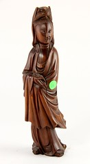 33. Carved Wood Guanyin