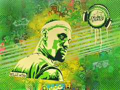 LeBron Sprite by Billi Kid (BilliKid) Tags: basketball sprite lebronjames cope2 ticky geiler underwaterpirates questionjosh chrisstain 14bolt davidcooper billikid publicworksdepartment joeiurato dintwooerkrsna dwkrsna
