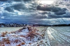 Die Sonne kommt raus (Helmut Reichelt) Tags: leica winter germany deutschland bavaria oberbayern landschaft hdr m9 königsdorf voigtlandernokton35mmf14sc colorefexpro4