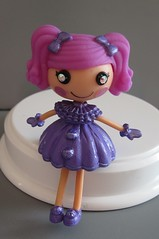 Amy Thyst - Mini Lalaloopsy February (Still Plays With Dolls) Tags: purple ooak mini amethyst february birthstone lalaloopsy