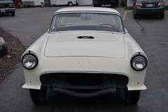 """1957 Ford Thunderbird E Code Dual Quad 312 • <a style=""""font-size:0.8em;"""" href=""""http://www.flickr.com/photos/85572005@N00/6703741575/"""" target=""""_blank"""">View on Flickr</a>"""