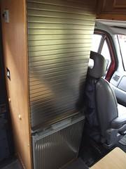 Wardrobe with fridge below (Mudman101) Tags: fiat motorhome ducato