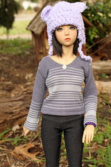 Showing off one of her xmas presents (Sylvin13) Tags: bjd abjd ih soa balljointed jid iplehouse realskin iple