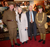 Brian Kenny, Kathleen Watkins, Gay Byrne and Noel Mullen The Irish premiere of 'Warhorse' at The Savoy Dublin, Ireland