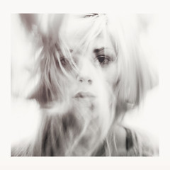 And I'll go up in smoke (Noukka Signe) Tags: lighting portrait white black girl hair movement smoke 365 signe noukka