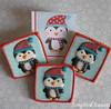 Penguins! (Songbird Sweets) Tags: penguins sugarcookies songbirdsweets