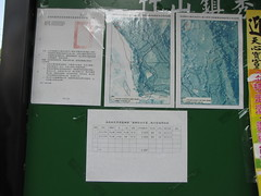 Public Notice on Local Farmers' Bulletin Board: Taiwan Forestland Used Inappropriately, Lease Rights Forfeited (treasuresthouhast) Tags: forest taiwan rights land government law farmer enforcement  nantou    jhushan chushan