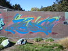 """TEKN"" by DABS DTA (4GSMAG_DOTCOM) Tags: brown graffiti sebastopol dabs northbay dta tekn"