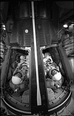 McDivitt and White Simulate Launch (NASA APPEL Knowledge Services) Tags: accident nasa astronauts launch edwhite gusgrissom apollo1 rogerchaffee explorions apollo204reviewboard