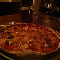 Four cheese pizza #foodspotting