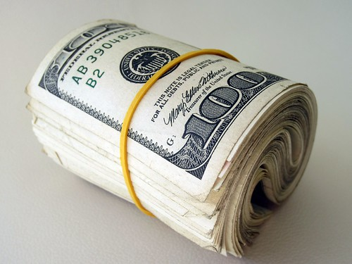 Money Roll - $100 Dollar Bills by 401(K) 2013, on Flickr