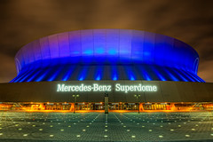 Mercedes Benz Superdome (todd landry photography) Tags: new architecture mercedes benz nikon orleans louisiana hdr superdome d700