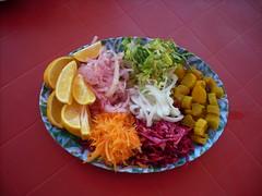 Kurdish salad (hellimli) Tags: salad iraq erbil kurdistan irak salata iraqikurdistan كردستان kürdistan курдистан أربيل κουρδιστάν eρμπίλ ιρακ kurdistāna эрбиль kurdisztán