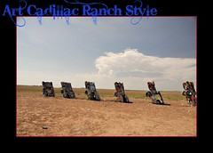 Cadillac Ranch (janetfo747 ~ Pray for Peace) Tags: auto road silly art cars metal fun cool artwork junk automobile colorful day buried monalisa cadillac used clear spraypaint visual iconic filed usidedown artgroup antfarm attaction yahooweather dougmichels mygearandme mygearandmepremium mygearandmebronze mygearandmesilver mygearandmegold chiplordhudsonmarquez