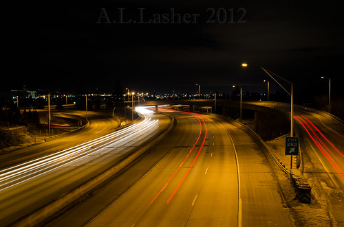 1-28-2012~Light Trails At 282