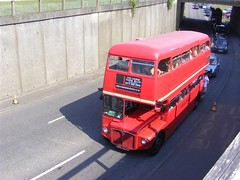 Routemaster (PD3.) Tags: park bus london buses downs coach open top transport royal racing surrey topless routemaster races derby epsom topper lt grandstand psv pcv aec investec smk epsomdowns 2011 rml 2727 727f rml2727 smk727f