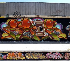 Zade1 (COLOR IMPOSIBLE CREW) Tags: chile black color graffiti faces crew asie dems marlis zade imposible quilpue 2011 fros eynor