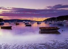 Careel Bay Sunset Northern Beaches