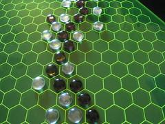 game boardgame hex lasercutter