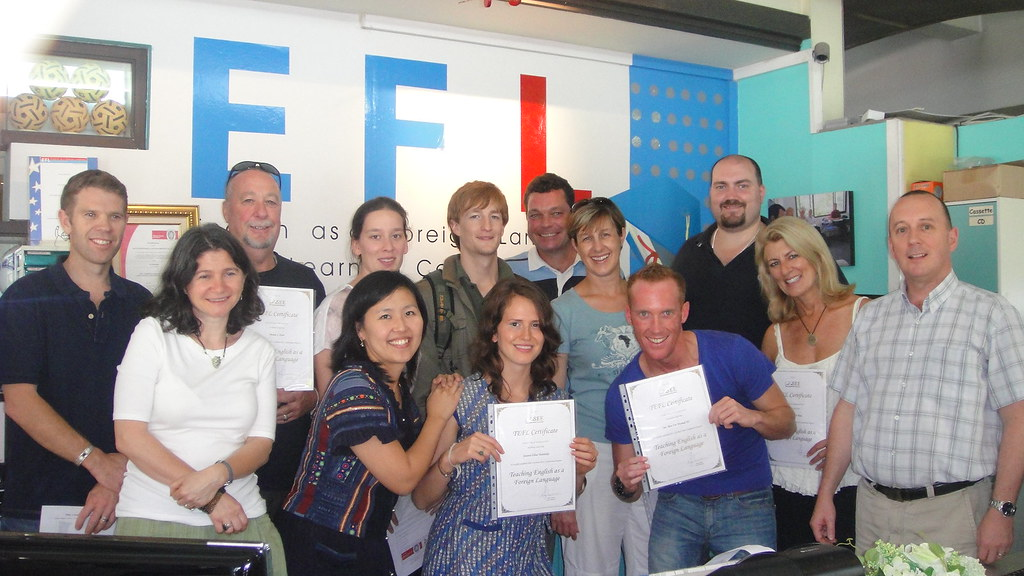4 Week TEFL Course in Chiang Mai, Thailand