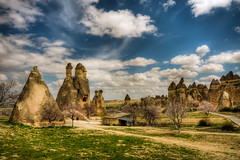 Cappadocia,Turkey (Nejdet Duzen) Tags: trip travel cloud nature turkey trkiye cappadocia greme bulut turkei seyahat doa paaba saariysqualitypictures mygearandme