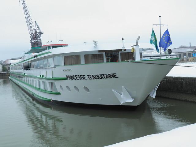 ms Princesse d'Aquitaine - Bordeaux sous la neige - 05 février 2012