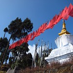 "Chorten and Prayer Flags at Sanga Choling <a style=""margin-left:10px; font-size:0.8em;"" href=""http://www.flickr.com/photos/14315427@N00/6829396081/"" target=""_blank"">@flickr</a>"