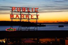I Love Seattle! (sea turtle) Tags: seattle sunset sky pine ferry evening downtown market pikeplacemarket pikesplacemarket pike pikeplace elliottbay pinestreet pikestreet publicmarket pikeplacepublicmarket pikesplacepublicmarket