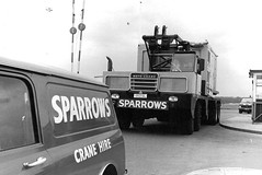 Sparrows Lorain MC9115 (Bournemouth 71B / 70F) Tags: red mobile big bath lift crane head duty boom cranes block chassis hook derrick root heavy sparrows jib strut sections slew ballast lifting hoist telescopic capacity counterweight outriggers