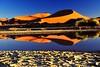 """Sossusvlei 04 (lencomb) Tags: reflection desert dune namibia sossusvlei desert"""" water"""" """"reflection dunes"""" """"huge """"namib waterinsossusvlei dunesandwater"""