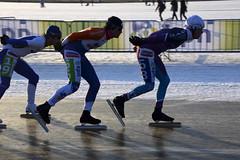 NK marathon op natuurijs 2012 (Rene Mensen) Tags: winter ice dutch nikon marathon iceskating skating champion thenetherlands skate skater nikkor parc nederlands 2012 emmen nk ijs schaatsen kampioen sandur natuurijs rietplas d5100
