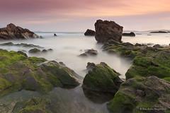 Bascuas....de piedra !! (PITUSA 2) Tags: espaa naturaleza atardecer mar playa paisaje galicia cielo pitusa pontevedra piedras sanxenxo bascuas elsabusto