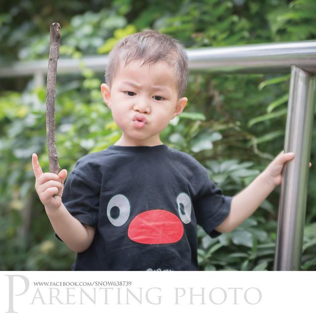小赫表示:防蚊液不喜歡...... (嘟嘴)