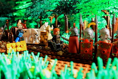 Hand Him Over! (peggyjdb) Tags: history lego roman britain rebellion warrior tribe brigante legionaries caratacus catuvellauni queencartimandua