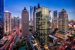 View from the Kempinski Bar (Rob-Shanghai) Tags: city colour bar night city