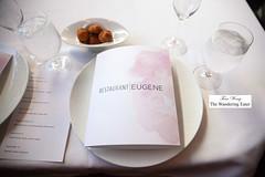 Menu and gougeres (thewanderingeater) Tags: atlanta dinner georgia buckhead finedining restauranteugene
