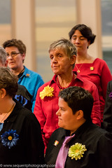 Loud and Proud Choir 2016 -231 (Philip Gillespie) Tags: pink blue gay girls people orange white black men green church boys yellow proud choir contrast canon lesbian happy prime scotland hall concert women edinburgh colours singing smiles transgender event sing bisexual loud songs anthems craigie balleds loudproudchoir craigiechoir