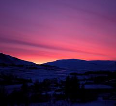 Iceland (richard.mcmanus.) Tags: pink winter sky landscape dawn iceland reykjavik gettyimages mcmanus