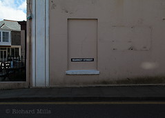 Cornwall - March 2014 (Richard Mills) Tags: window market streetname bricked