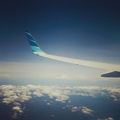 Just another #view from the #sky... (Febby Tan) Tags: sky skyline clouds airplane view wing uploaded:by=flickstagram instagram:photo=98171250967277084096682