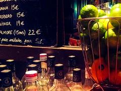 jay golden jam1 bar Les Cariatides (wakane) Tags: paris bar golden lemon jay alcool jam ardoise cariatides comptoir