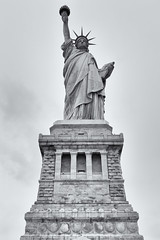 It Was A Nice Idea (Jeremy Brooks) Tags: blackandwhite bw usa newyork blackwhite manhattan statueofliberty libertyisland newyorkcounty silverefexpro
