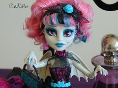 Rochelle Close Up (~CatMiller~) Tags: monster high doll zombie gothic figure bjd ghoul rochelle