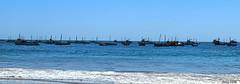 Barquitos de Los Organos (Gaby Fil ) Tags: mar barcos per marino playas piura losorganos sudamrica talara ocenopacfico playasperuanas costanortedeper playasdeper playaveleros