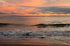 stormy sunset (Karol Franks) Tags: carpinteria ca santabarbara socal beach storm clouds sand sunset ocean karolfranksgmailcom ©2014 karolfranks ©karolfranks okarolyahoocom